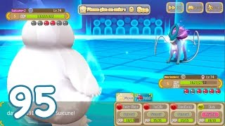 Hey Monster (Monster Park) - SHINY SNORLAX ORANGE QUALITY +2 POWER TEST!