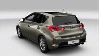 Toyota Auris - Exterior design video