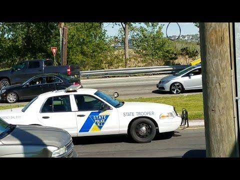 New Jersey State Police (Crown Vic Interceptor) Responding 5-15-17