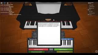Ocean Eyes*Made by:Billie Ellish (Roblox Piano Tutorial)