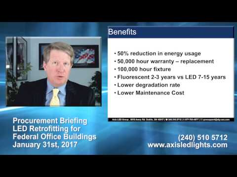 Axis LED Group - LED Retrofitting for Federal Office Buildings