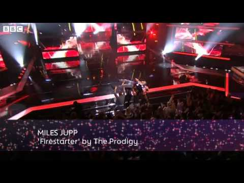 Miles Jupp Dances to 'Firestarter' by The Prodigy – Let's Dance for Sport Relief 2012 – BBC One