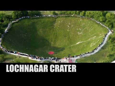 This WWI Explosion Left A Hole 70 Feet Deep | Lochnagar Crater