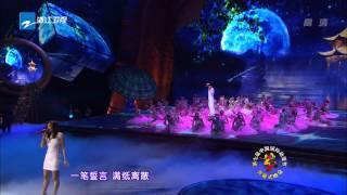 110428中国国际动漫节开幕式-张靓颖-木兰星-印象西湖雨