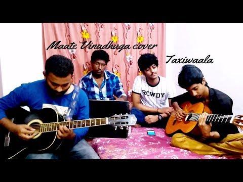 Maate vinadhuga song Taxiwaala Guitar  Cover Vijay Deverakonda, Priyanka jawalkar    Sid Sriram