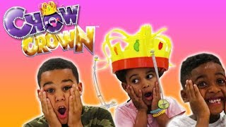 Chow Crown Challenge! FamousTubeKIDS