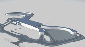 LOTTO Thüringen Skisport-HALLE Oberhof - 3D-Animation