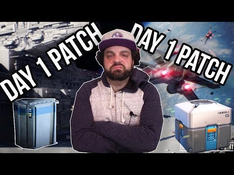 Day 1 Patches and Loot Boxes are RUINING Gaming - RANT | RGT 85