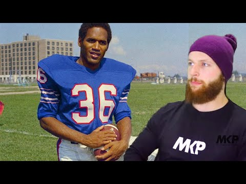 Rugby Player Reacts To O.J SIMPSON #40 The Top 100 NFL's Greatest Players!