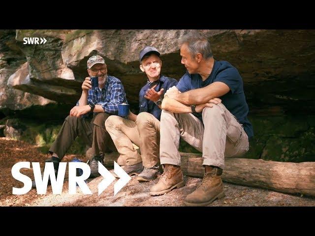 Mit Hannes Jaenicke & Pierre M. Krause im Pfälzer Wald | SWR Der mit dem Wald spricht