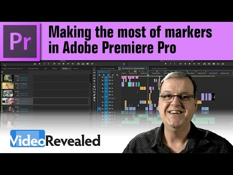 Making the most of Markers in Adobe Premiere Pro