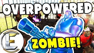 OVERPOWERED ZOMBIE! - TF2 (Zombie Outbreak If They Bite You Get Infected) Team Fortress 2