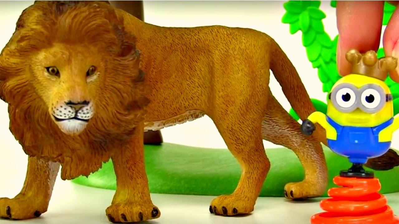 les animaux sauvages pour les enfants vid o ducative en fran ais youtube. Black Bedroom Furniture Sets. Home Design Ideas