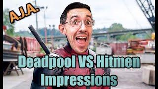 Deadpool Impressions - Deadpool VS Hitmen By Ben Kirby AKA All Jokes Aside