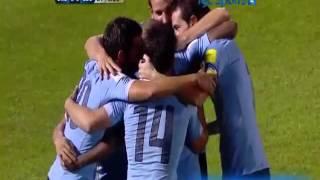 Uruguay 3 Colombia 0 (Tyc  Sports)  Eliminatorias Rusia 2018 Los goles
