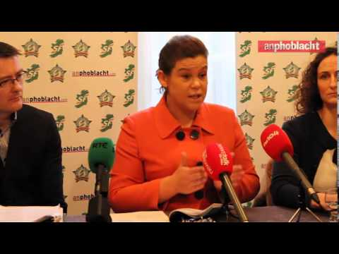 "Mary Lou McDonald responds to claims that PAC is ""overstepping its role"""