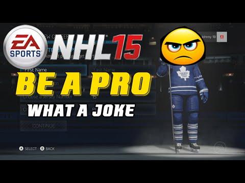 NHL 15 - Be A Pro