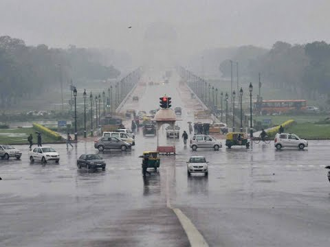 Light rainfall, gusty winds bring respite in Delhi NCR