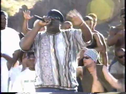 """The Notorious B.I.G.  Performs  """"Juicy""""    live on  MTV'S The Grind ...1 of 2"""