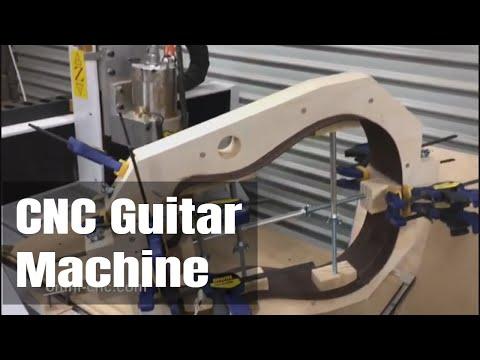 CNC Guitar Making in Australia:  OMNI CNC Wood Router