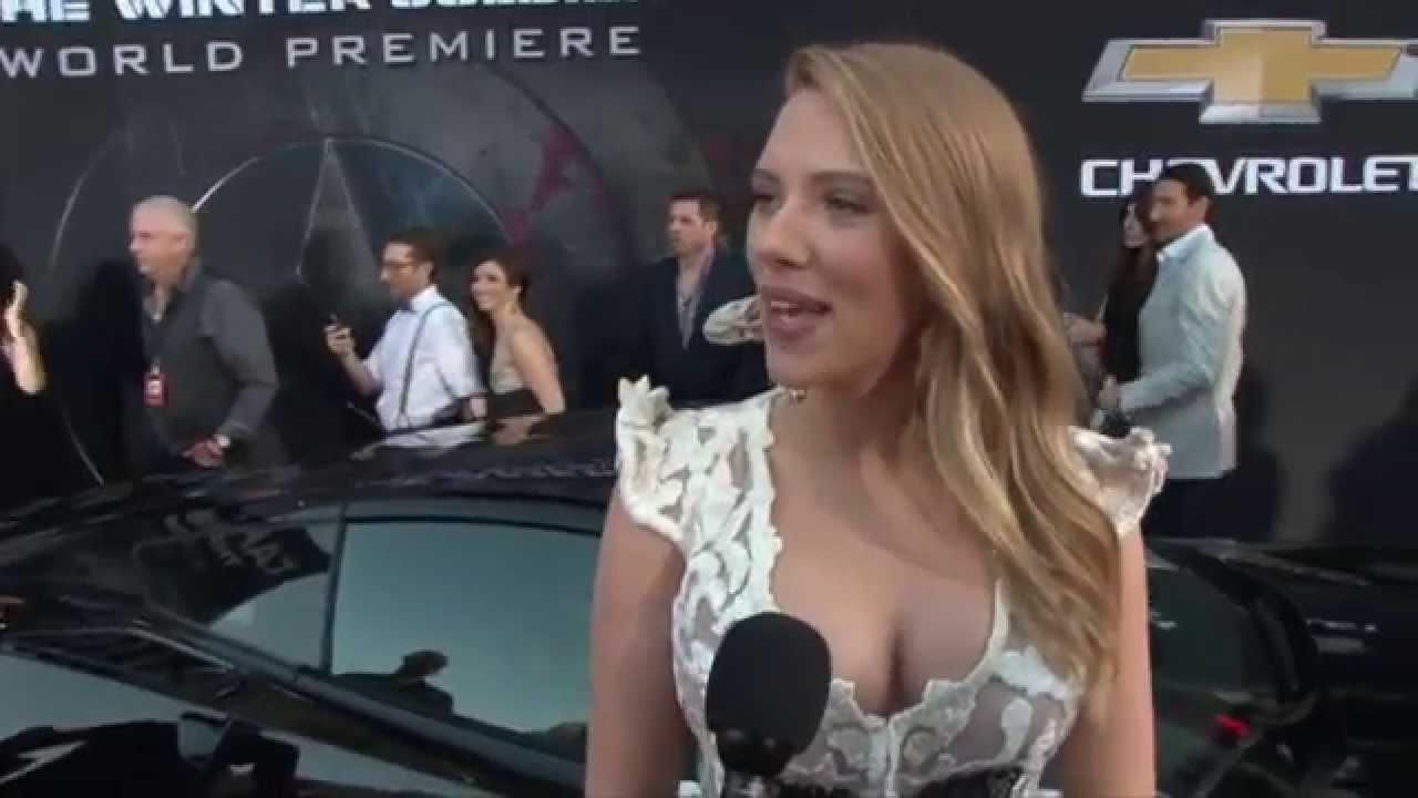 Scarlett Johansson Natasha Romanoff Black Widow Captain America