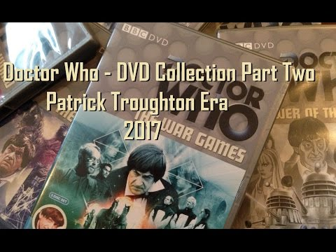 Doctor Who DVD Collection 2017 Review/Overview - Part Two - Patrick Troughton - Second Doctor