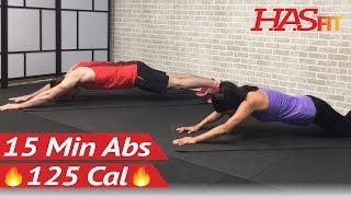 HIIT Abs Karın Egzersizleri Erkekler ve Kadınlar için 15 Dakika Yoğun bir Ab Egzersiz - 15 Min Abs -