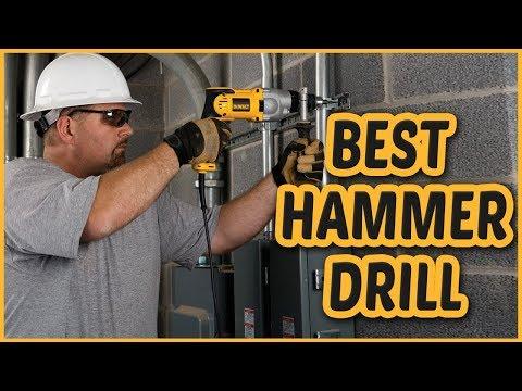 Best Hammer Drill 2018 -  Hammer Drill Reviews