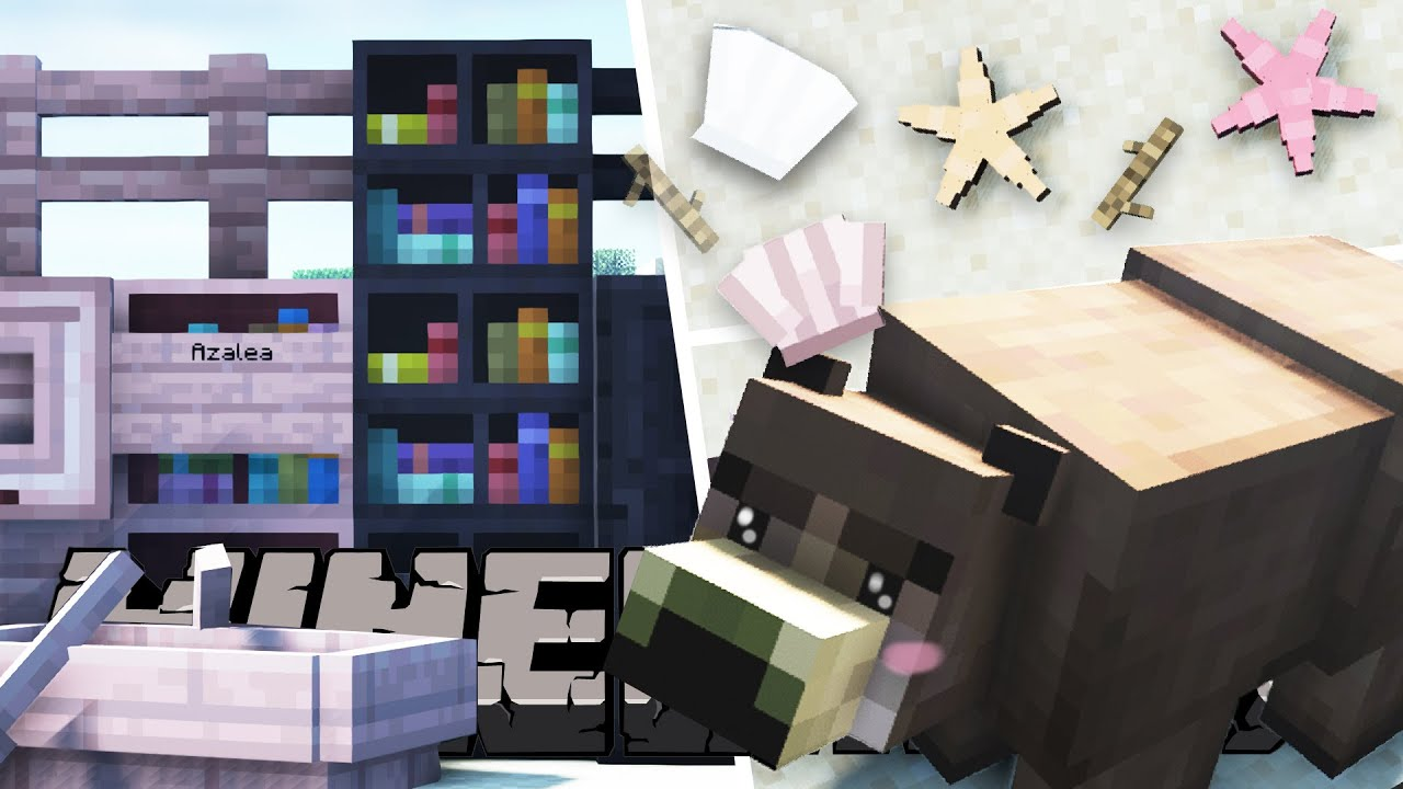 My Favorite Minecraft Mods for 1.17 Improvements, Cute & Useful Mods
