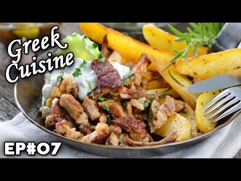 Greek Cuisine  Greece  Cultural Flavors  Ep 07  Youtube