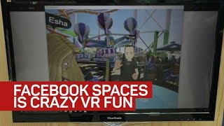 Facebook Spaces is wacky and made for VR selfies
