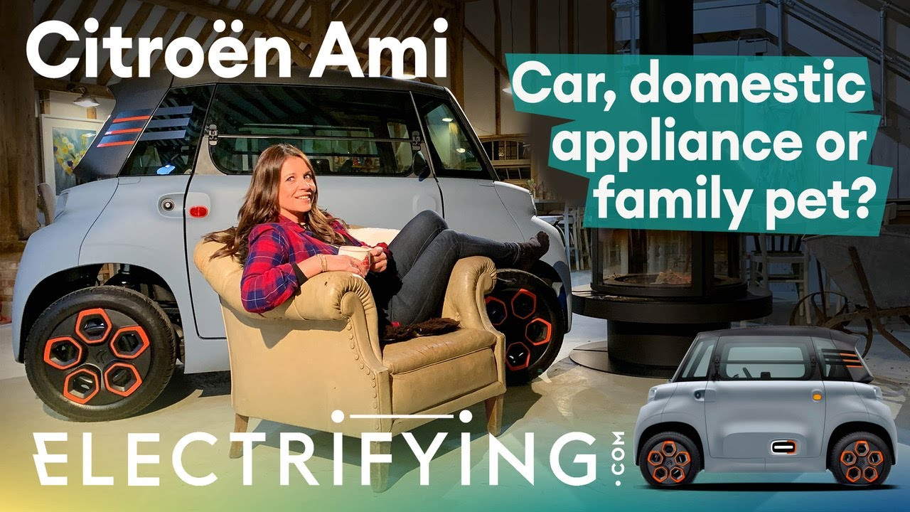 Citroen Ami – Is it a car, domestic appliance or family pet? First drive UK review / Electrifying