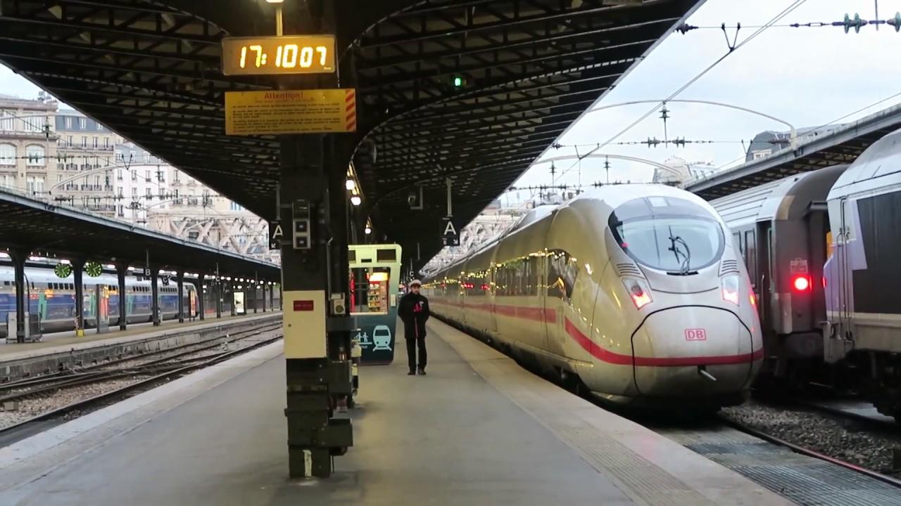 Frankfurt Paris Bahn