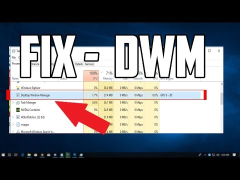 How To Fix Desktop Window Manager High CPU Usage