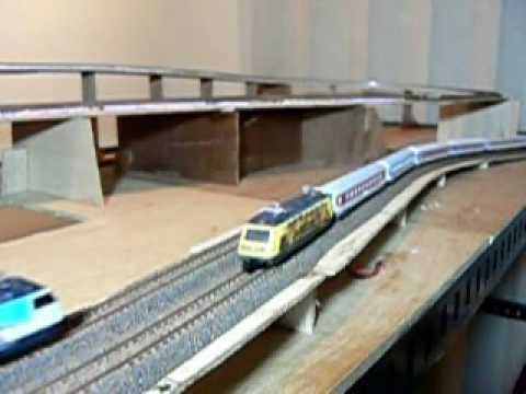 Z scale new layout (Test Run)