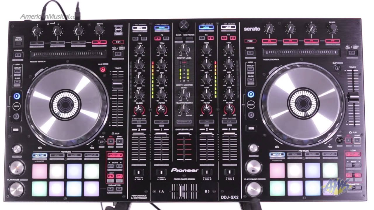 Holiday Special: PIONEER DDJ-SX2 & MACKIE THUMP15 POWERED SPEAKERS .