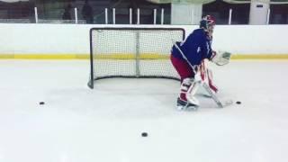 Goalie training. Тренировка вратаря. Перемещение в воротах