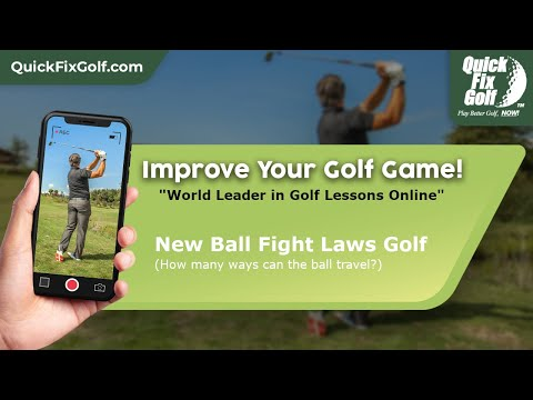 Online Golf Class on Swing Path vs. Club Face and New Ball Flight Laws