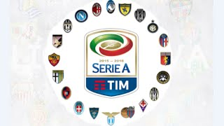 Liga italiana, todos los campeones de la liga italiana, Serie A, Serie A TIM, 2016.