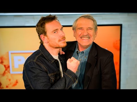 Michael Fassbender Cannot Stop Cracking Jokes During Interview