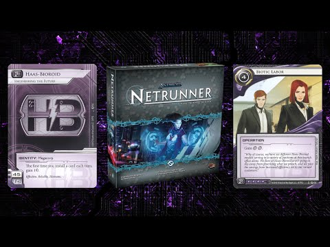 A Look Back At The Netrunner Core Set - Haas Bioroid