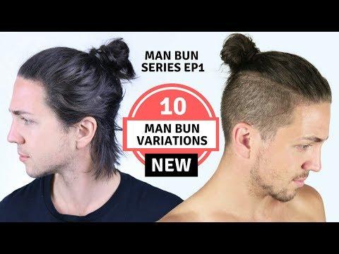 10 Different Man Bun Styles - Men's Long Haircut Styles
