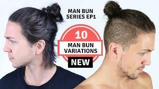 ✅ 10 Different Mąn Bun Styles - Men's Long Hairstyles