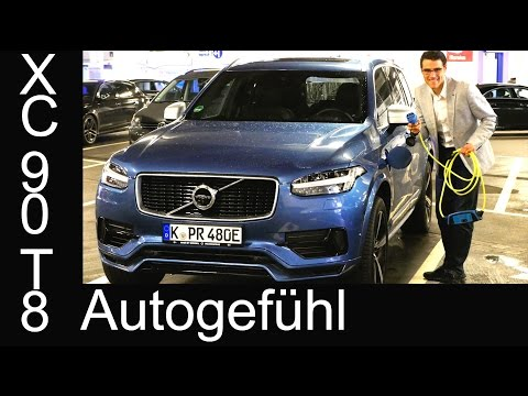Volvo XC90 T8 twin engine: electric range & real consumption test Plugin-Hybrid
