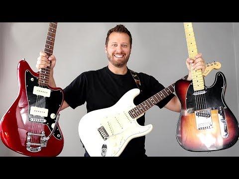 Ultimate Fender Comparison! - STRAT, TELE, or JAZZMASTER??