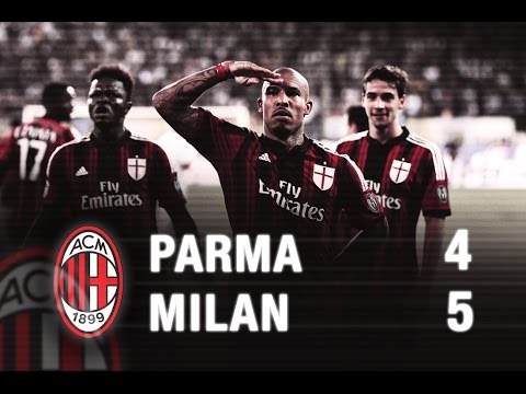 Parma-Milan 4-5 Highlights | AC Milan Official