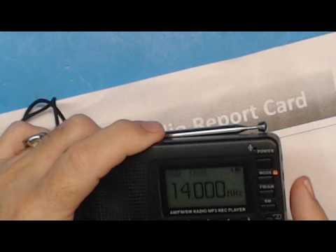 TRRS #1206 - TIVDIO V-115 Multiple Function SW Radio