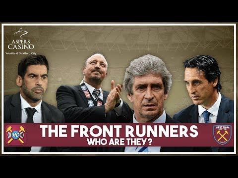 David Moyes has left West Ham United | Fonseca, Pellegrini, Benitez & Emery the 4 front runners!