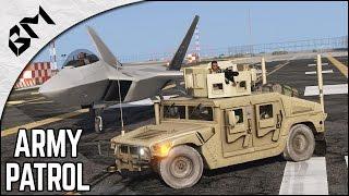 GTA 5 - LSPDFR - CONVOI MILITAIRE - ÉMEUTE - Military Patrol - Patrouille 34