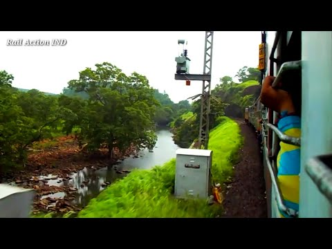 Glimpse of Jabalpur to Bhopal Journey| Train through beautiful Bridges and Mountain Sceneries